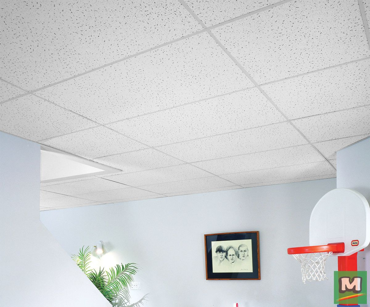 This Usg Radar 2 X 4 Acoustical Lay In Ceiling Tile Panel Is A Great Choice For Any Room It Offers High Li Ceiling Tile Panel Ceiling Lights Ceiling Tiles