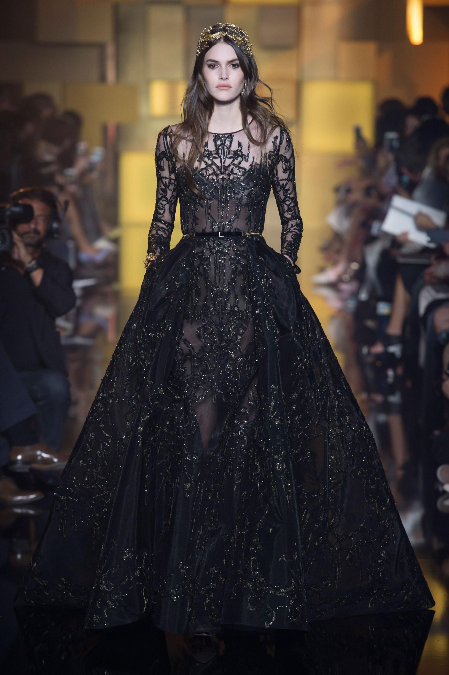 D fil elie saab automne hiver 2015 2016 haute couture for Buy haute couture