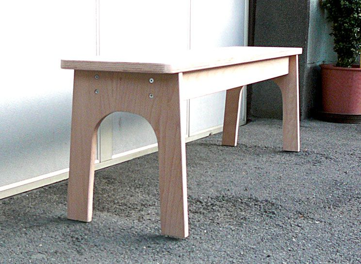 made in a woodworking class for women