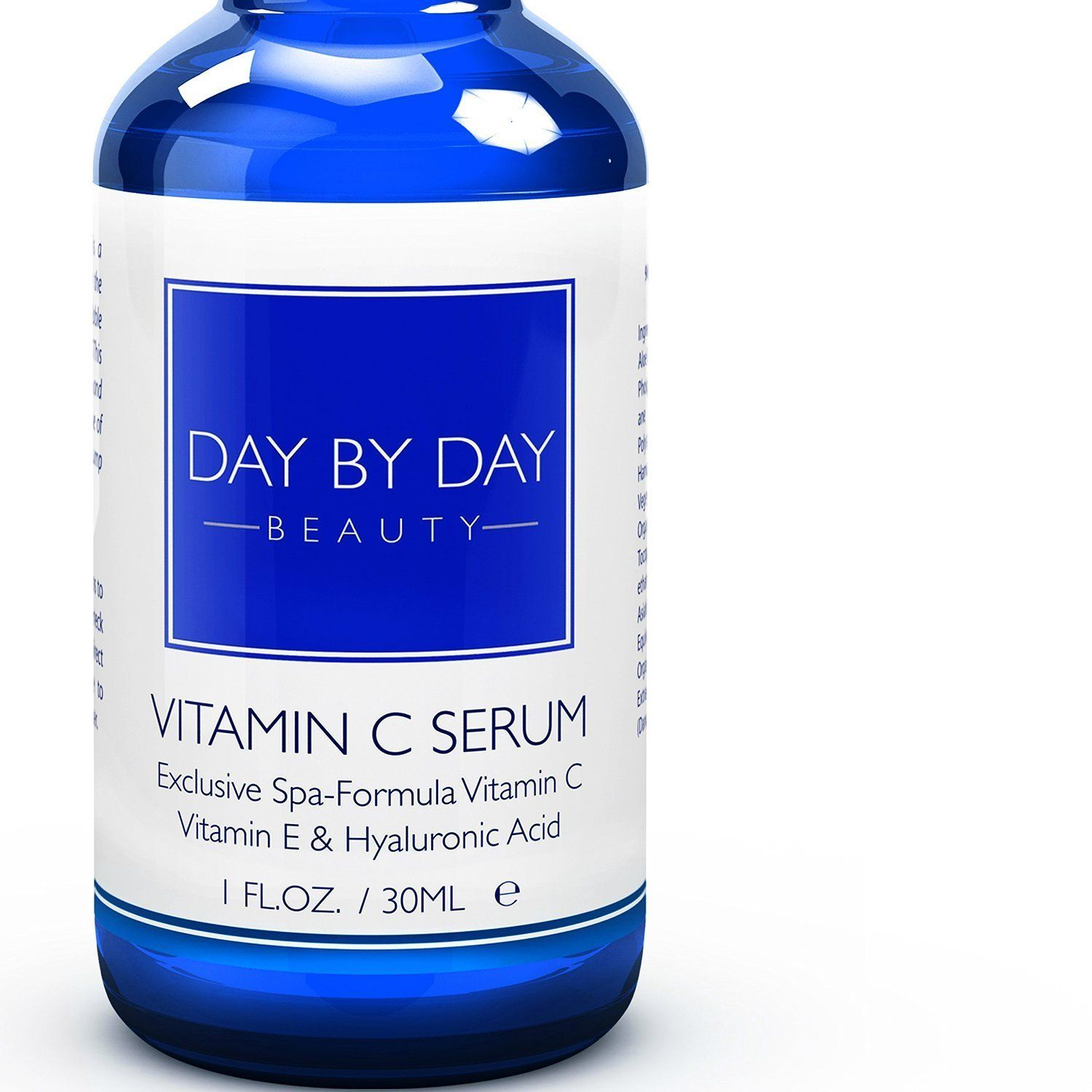 Day by day beauty vitamin c e hyaluronic acid antiaging serum