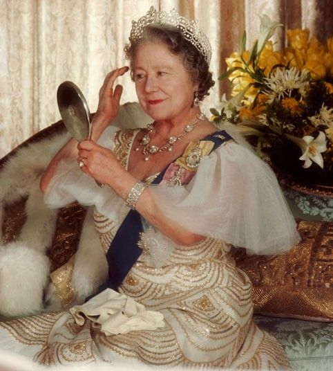 Every inch a great royal lady - the late Queen Mother Elizabeth of England.