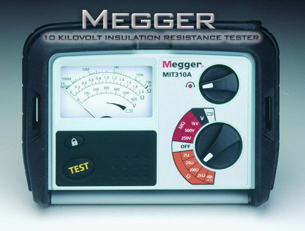 Measurement Of Insulation Resistance Ir Part 1 Megger 10 Kilovolt Insulation Resistance Tester Power Engineering Electrical Engineering Insulation