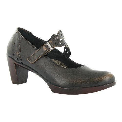 Womens Naot Leather Gray Mary Janes Amato