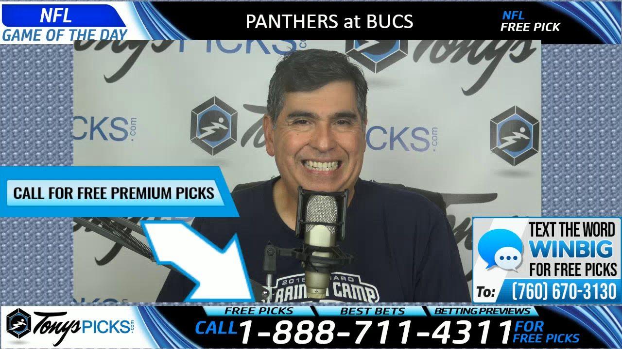 Carolina Panthers vs. Tampa Bay Buccaneers Free Picks and
