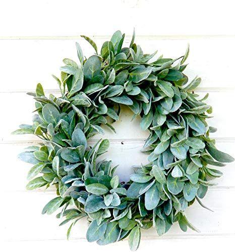 Photo of Bestselling farmhouse wreath, lamb ear wreath, farmhouse decor, autumn wreath, winter wreath, spring wreath, summer wreath, Christmas wreath, all year round wreath, door decor online – Selecttopseller