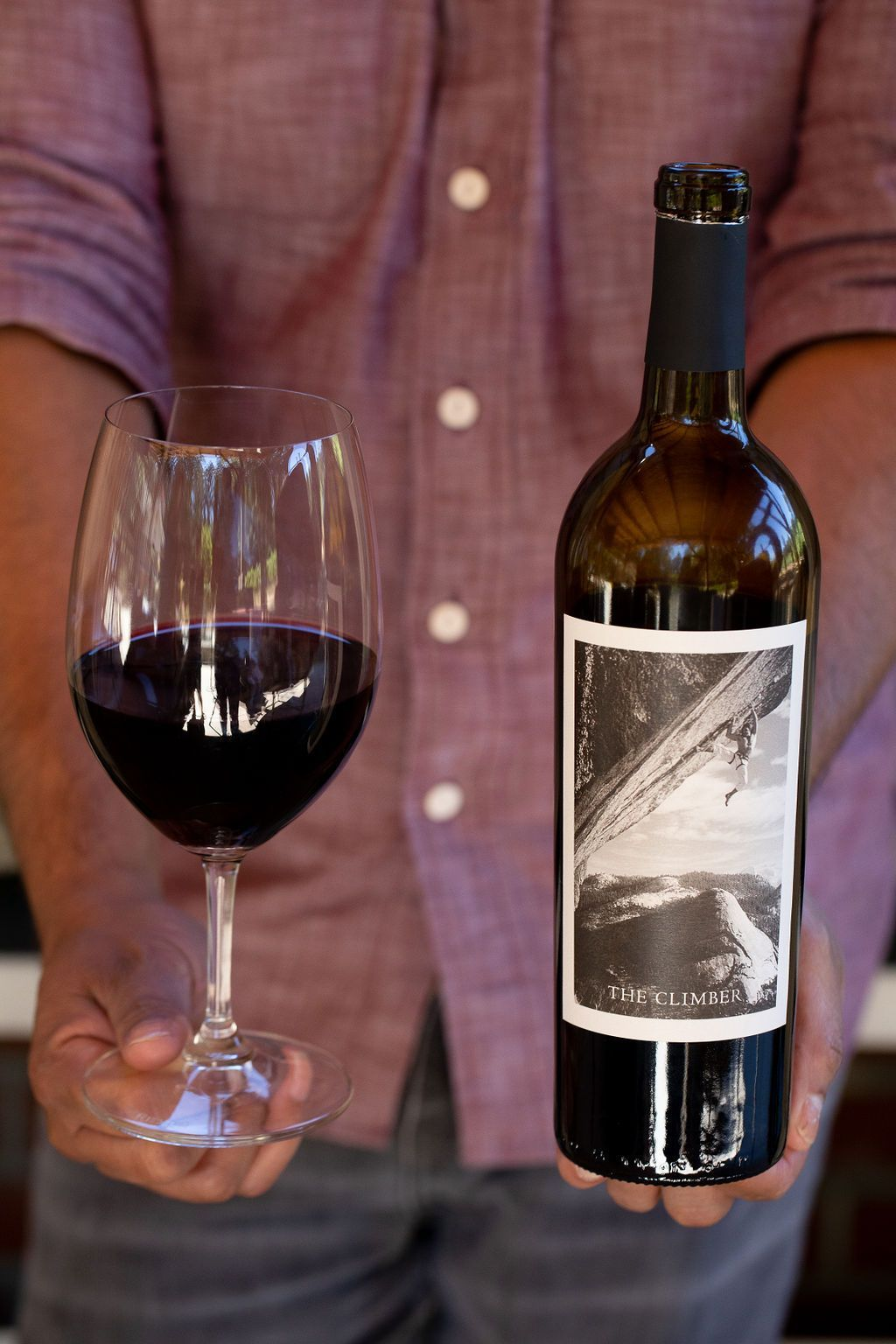 The Perfect Wine To Take On Any Adventure Whether It Be In The Great Outdoors Or In The Kitchen The Climber Is A Crowd Pl Red Blend Wine Red Wine Wine Gifts
