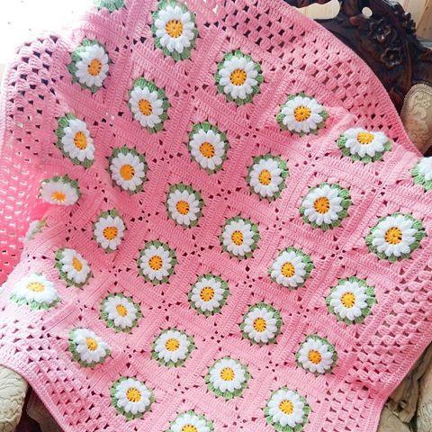 Pin de Çiğdem en Battaniye... Blankets... Decken...   Pinterest ...