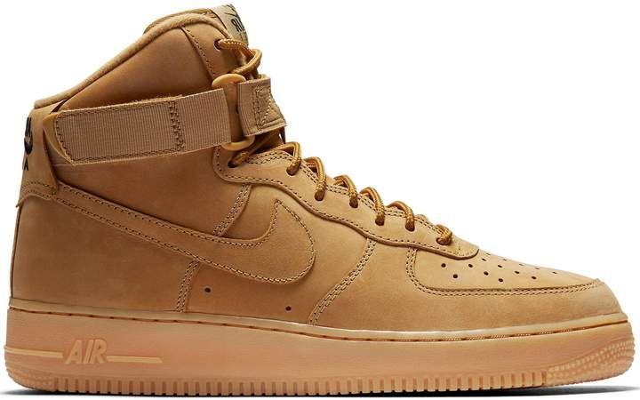 d49c8df5 Air Force 1 High Flax (2017) in 2019   Shoes   Nike air force high ...