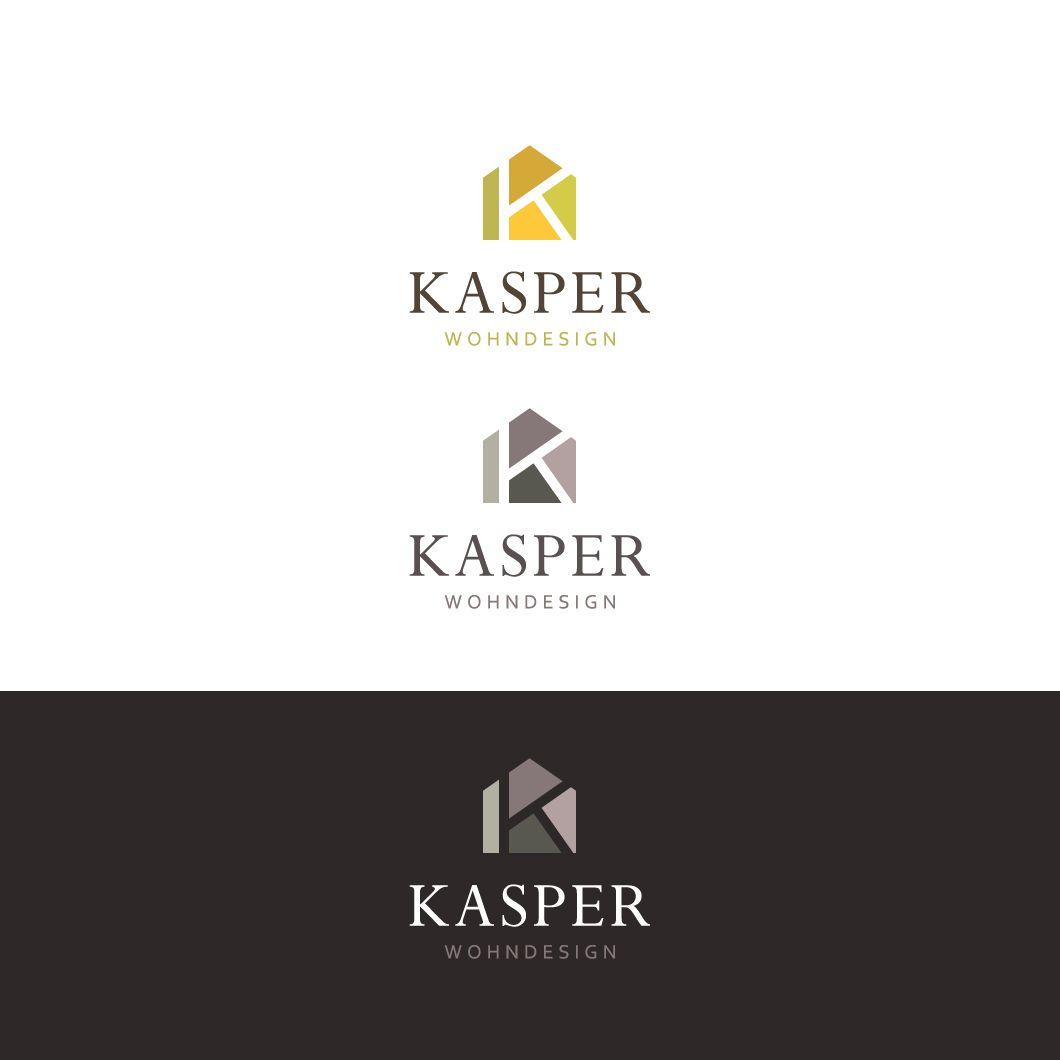 interior design company, minimal , modern logo