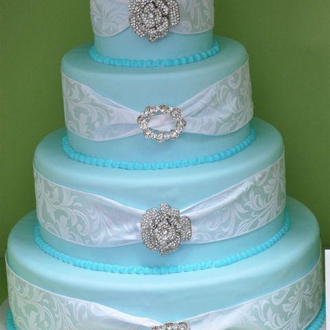 Frost Bake Shop Memphis Cake WeddingWedding