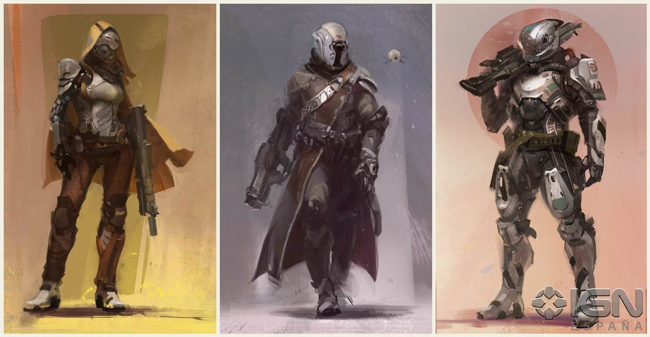Destiny wallpaper bungie destiny artwork2 jpg - Destiny Character Design By Bungie