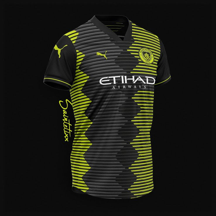 Best Of 13 Unique Puma Manchester City 19 20 Concept Kits Footy Headlines Soccer Uniforms Design Football Training Kit Jersey Design