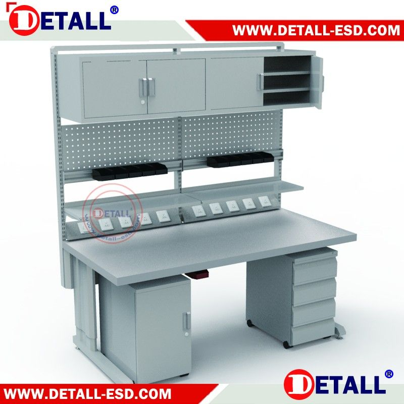 Electronic Lab Esd Workbench With The Permanent Antistatic Function Buy Esd Workbench Lab E Electronics Lab Workbenches Electronics Lab Electronics Workspace