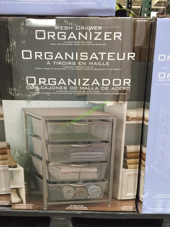 App Drawer Organizer Check Out This Mesh Drawer Organizer At Costcoit Has 4 Large Mesh