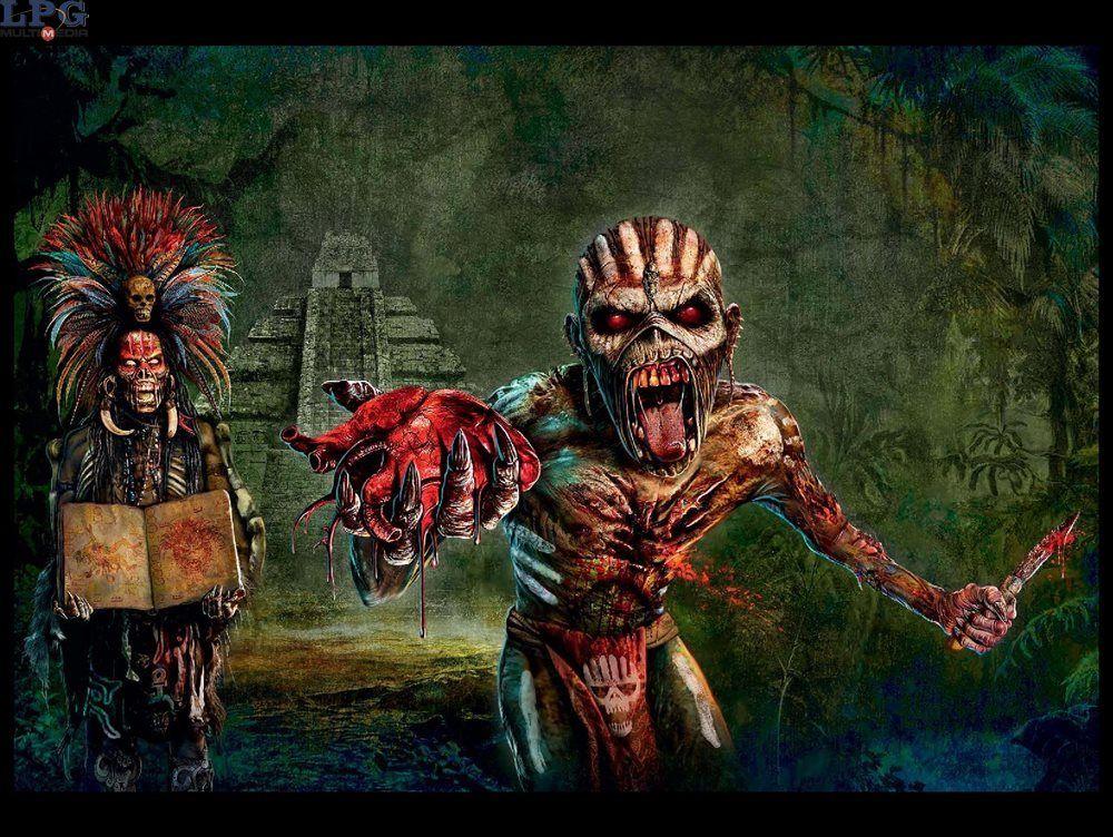La historia detrás de Eddie, la mascota de Iron Maiden