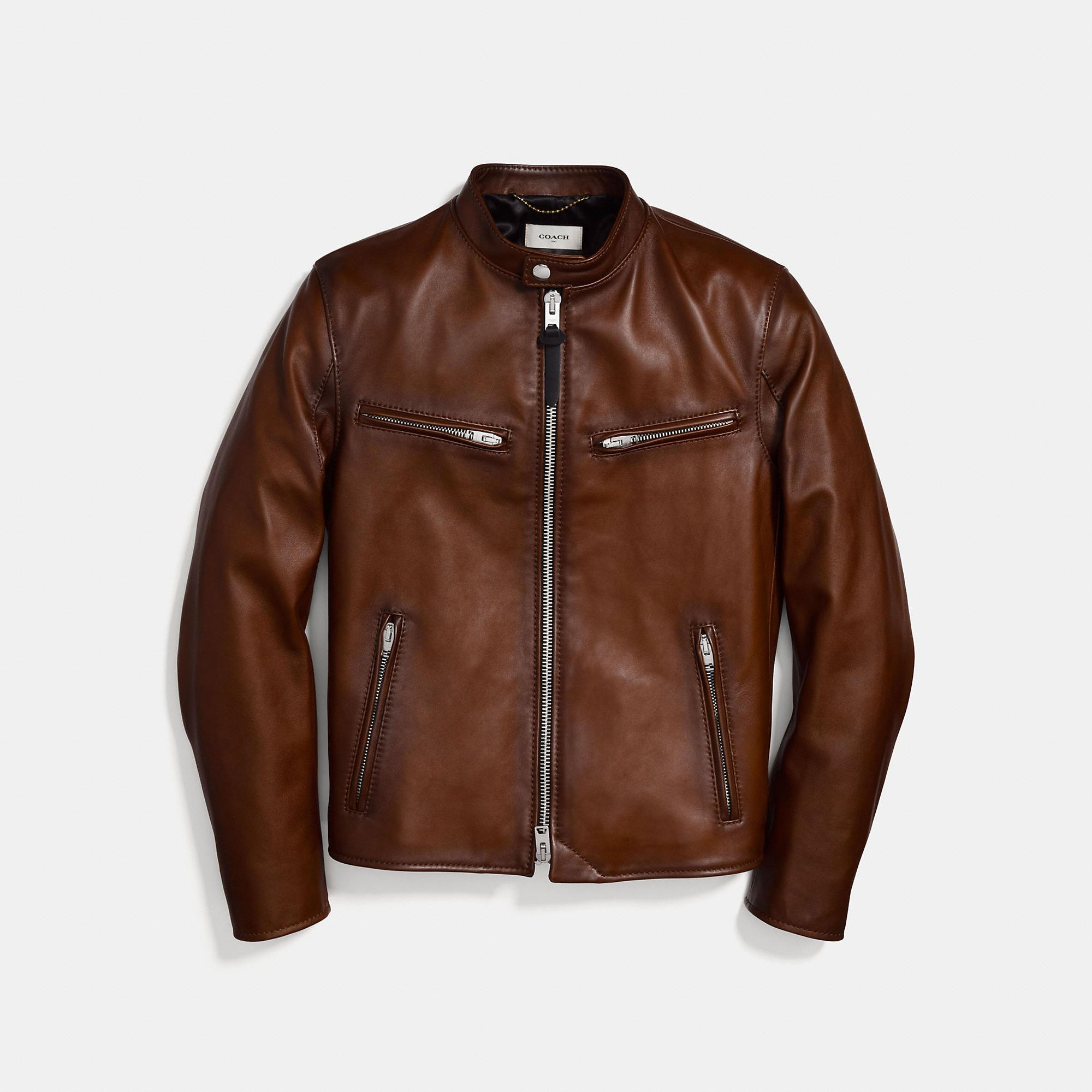 Racer Jacket Jackets, Mens clothing styles, Leather jacket