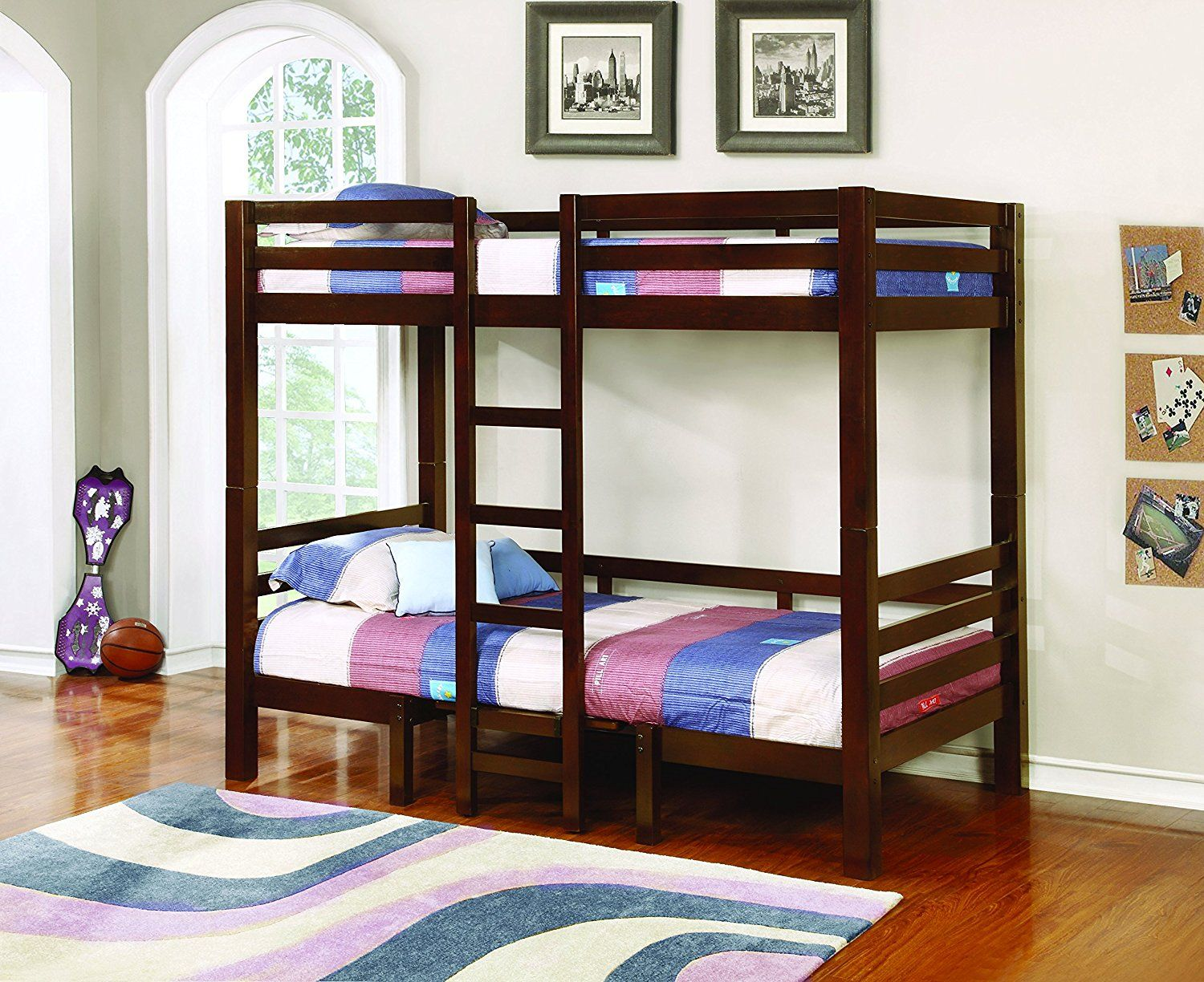 Coaster Twin Size Convertible Loft Bed in
