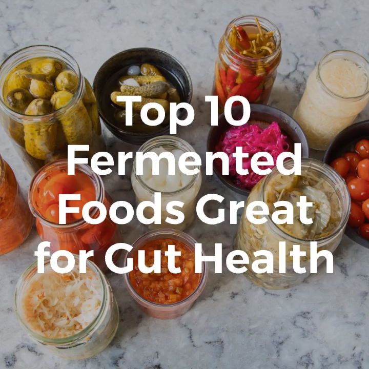 Top 10 Fermented Foods Great for Gut Health