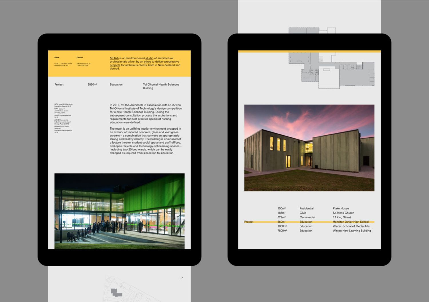 New Logo Brand Identity For Moaa Architects By Inhouse Bp O Web Design Website Design Layout Great Website Design