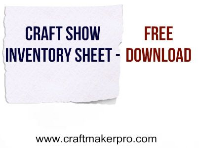Craft-Show-Inventory-Sheet-Free-DownloadThe number 1 tip for - inventory sheet template free download