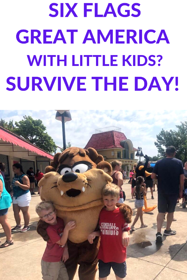 Six Flags Great America With Little Kids In 2020 Great America America Theme Six Flags