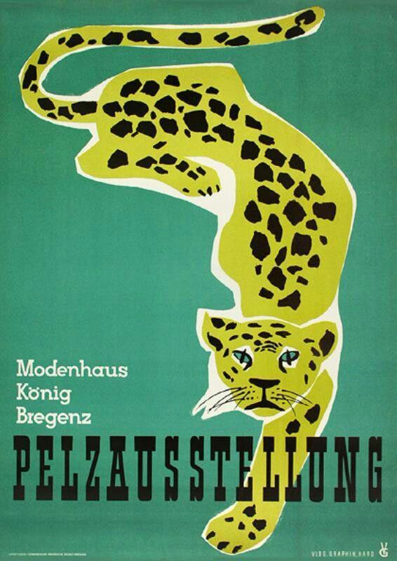 Vorarlberg Vintage Ad 1950s