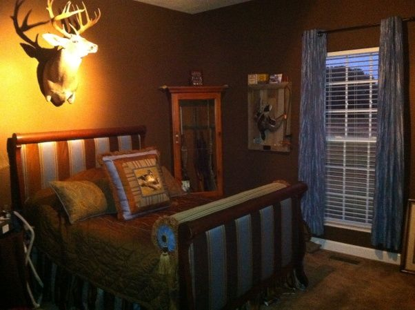 Boys Bedroom, Hunting, Deer, Duck, Bedrooms Design | Hubby