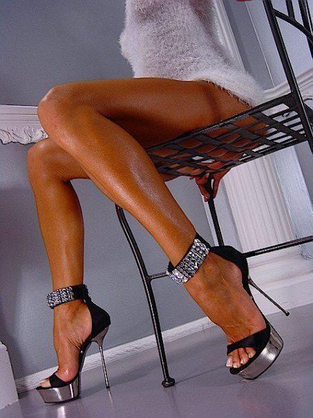Heel high sexy stiletto