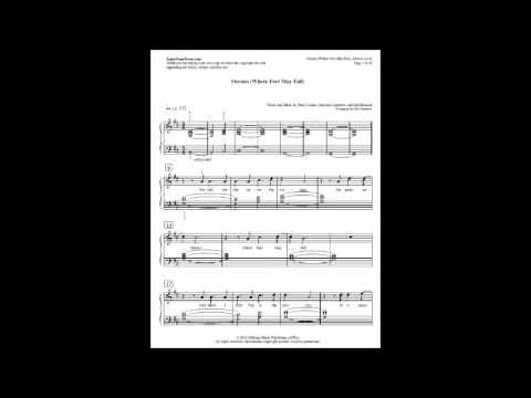 Oceans Hillsong United Sheet Music For Pianodownload Pdf File