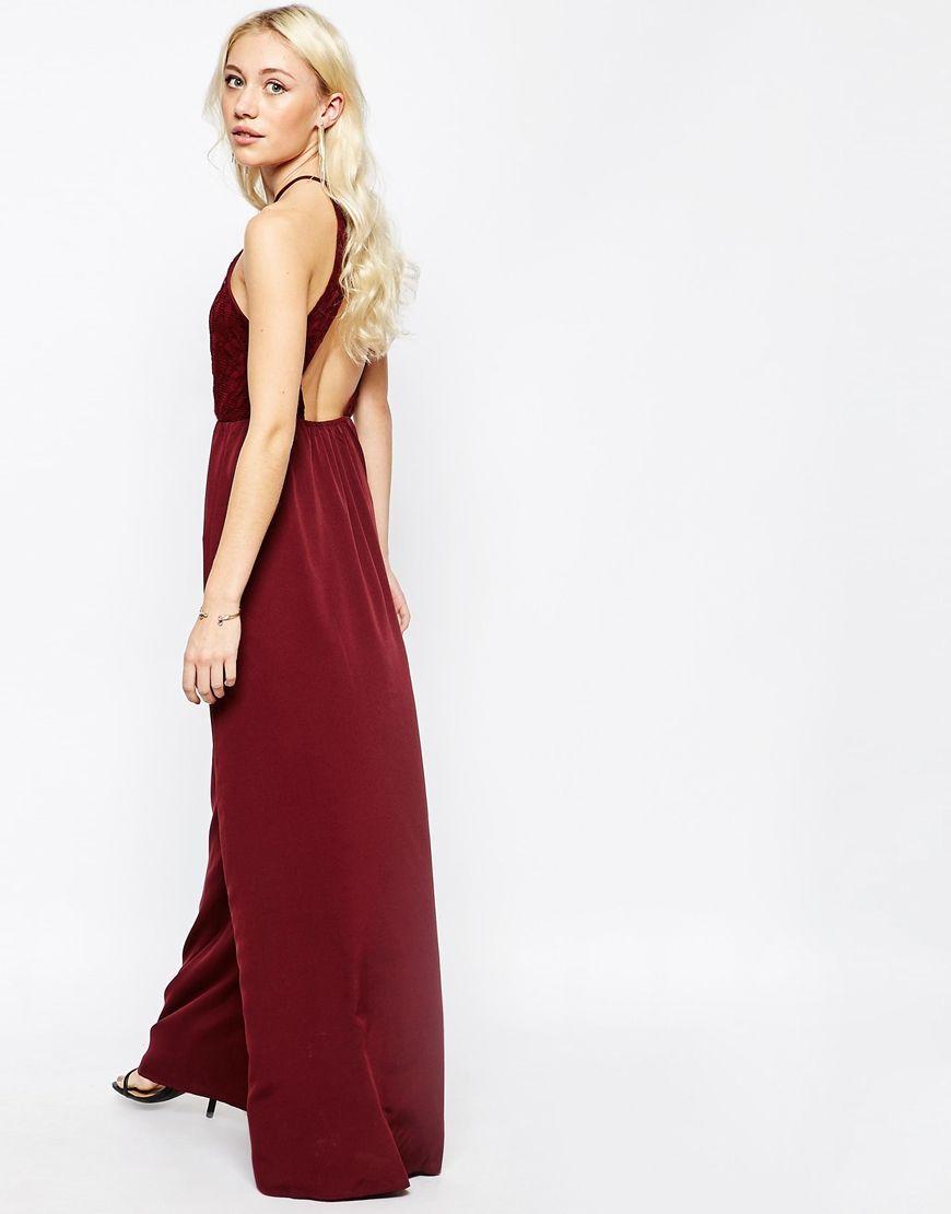 Pinterest f Out With Back Maxi Dress Vila Halterneck Cut 7wT084Wzq