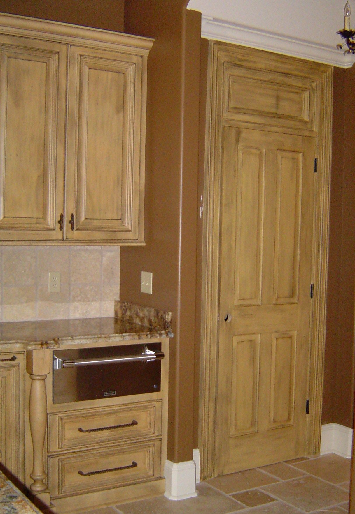 Pantry Door Finished To Match Kitchen Cabinets Furniture Home Kitchen Cabinets