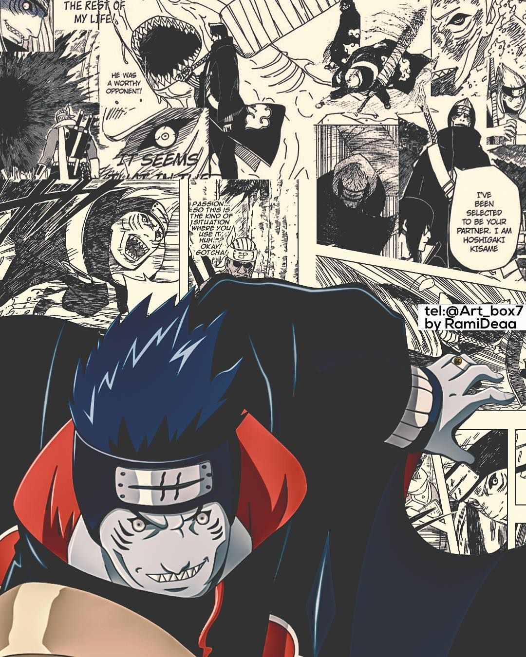kisame naruto anime art design wallpaper pinterest