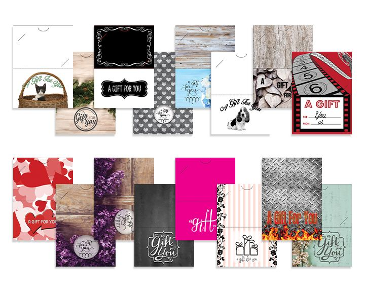 Specialty Gift Card Backers Gift Card Ideas Pinterest Custom