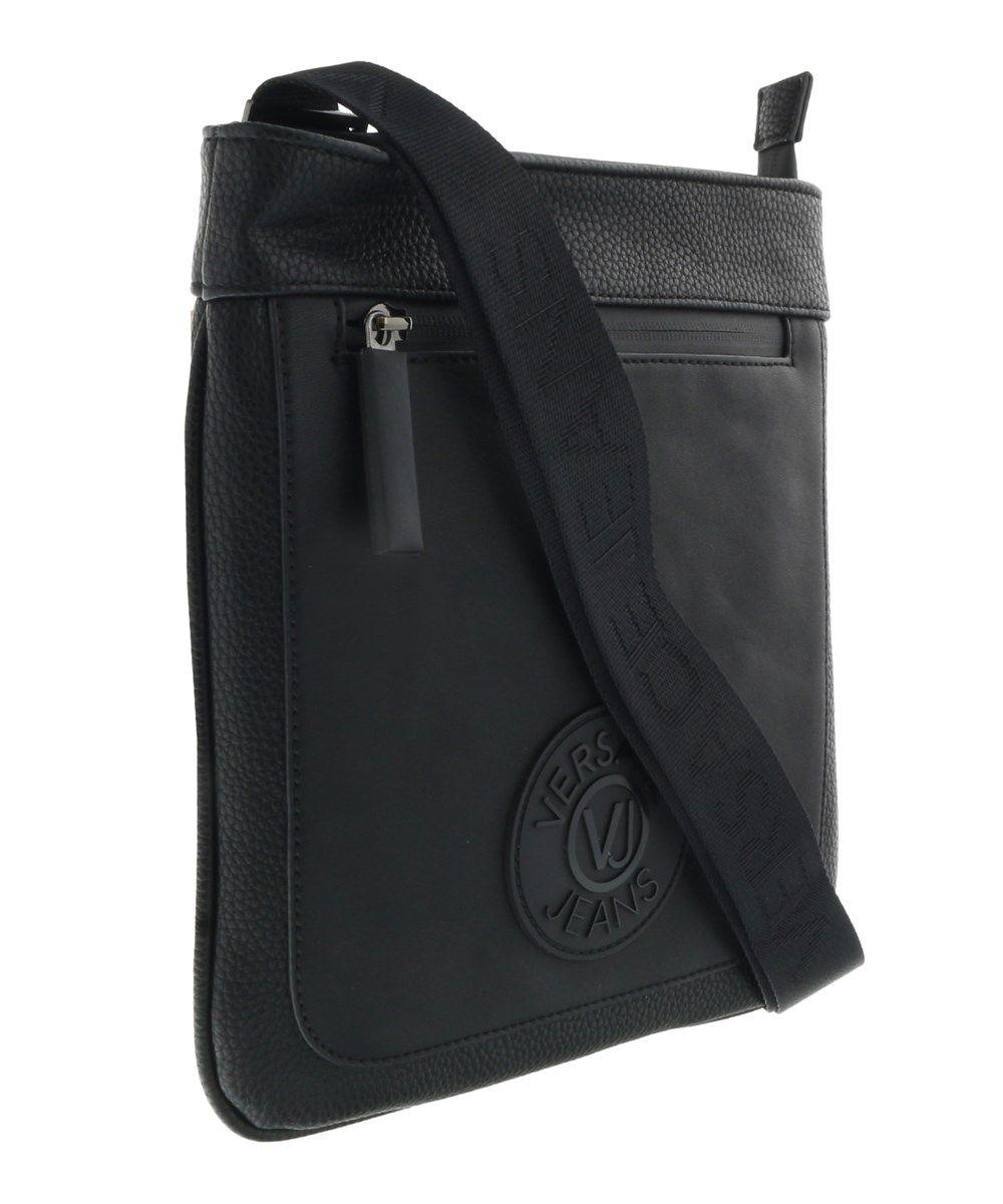 VERSACE Ee1yqbb31 E899 Black Messenger Bag.  versace  bags  shoulder bags   leather  denim   46454a5334473