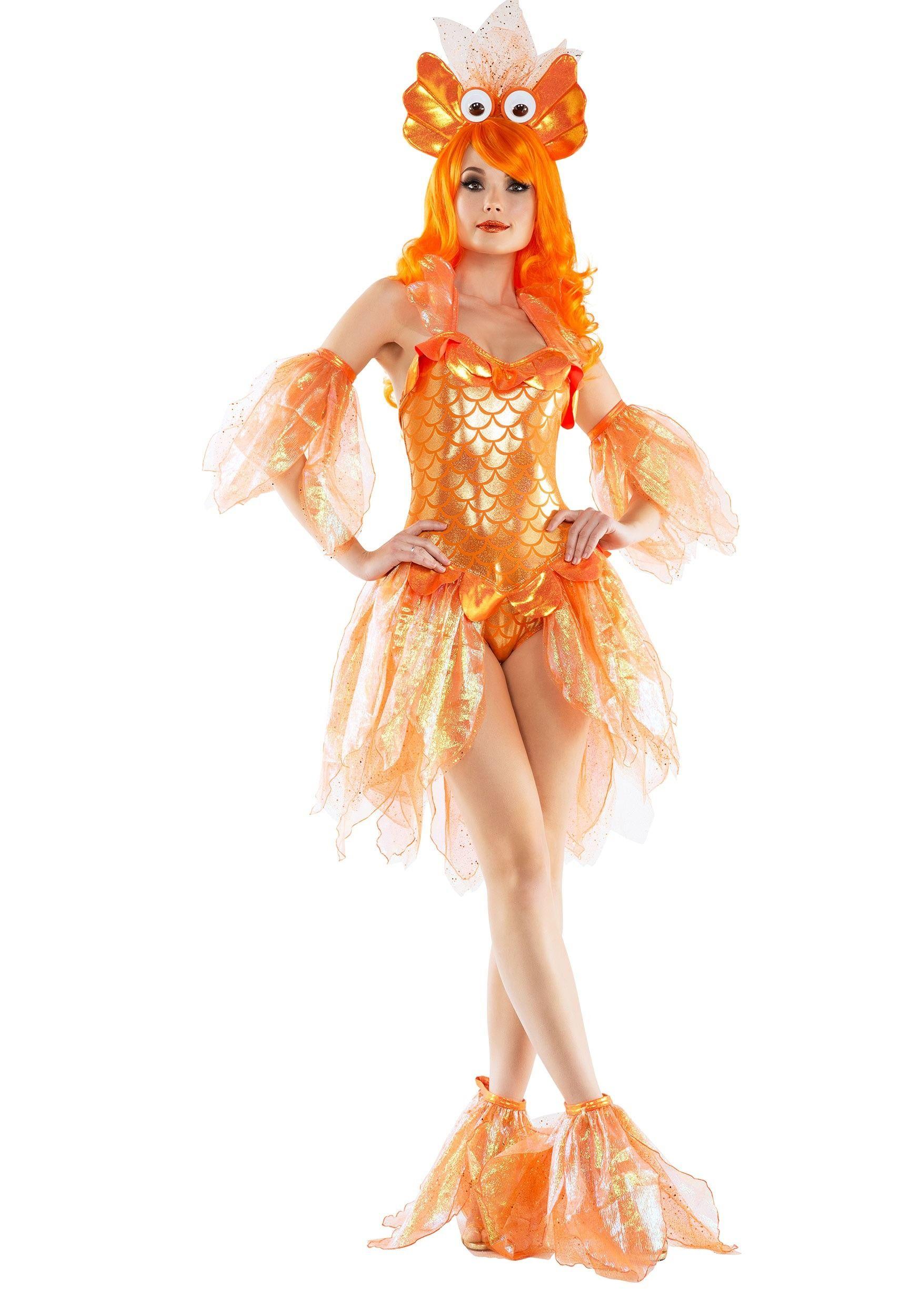 Womens Sexy Goldfish Costume Nightmare Before Christmas In 2019