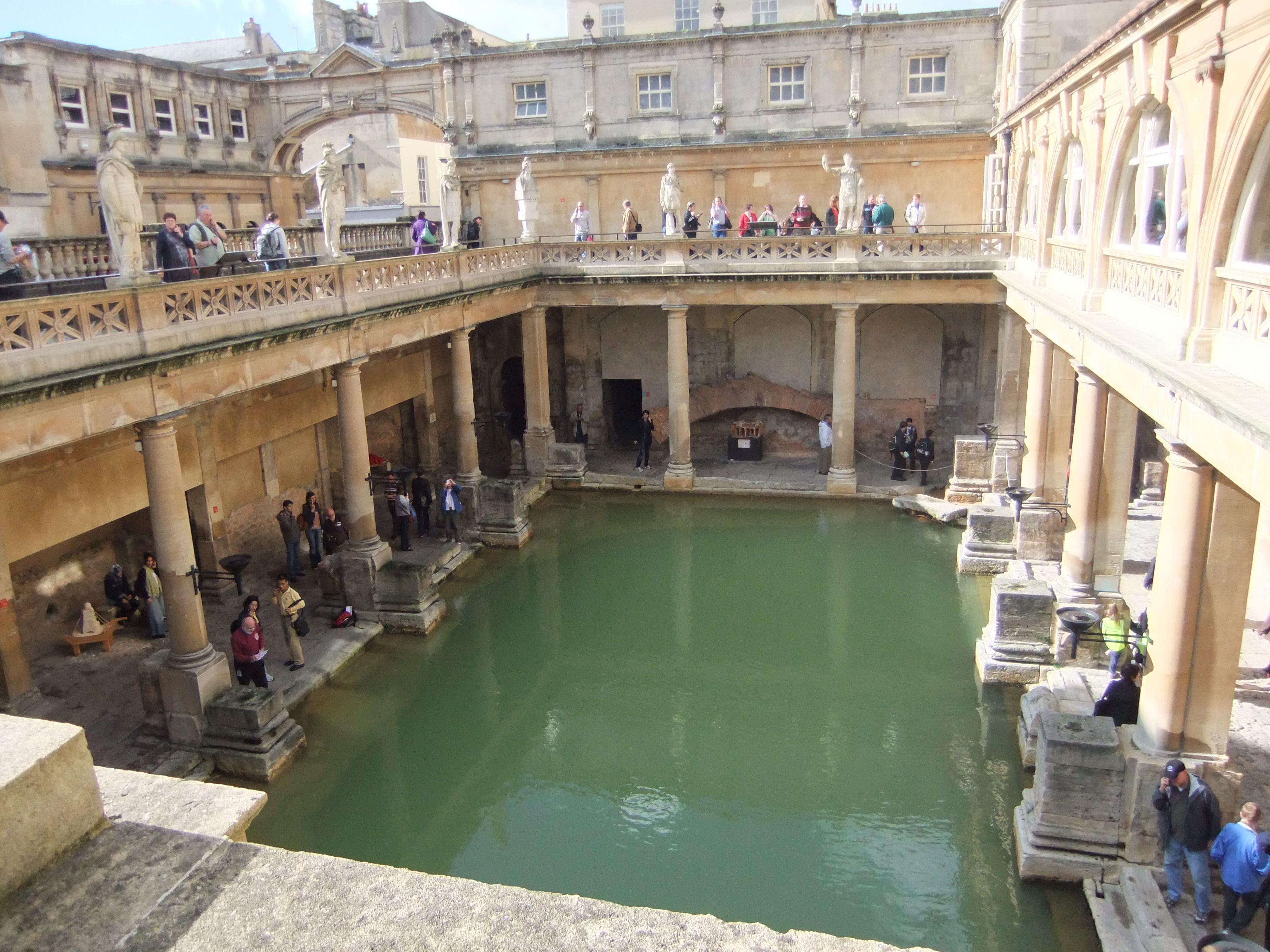 Bath England Roman Baths Beautiful Places Places