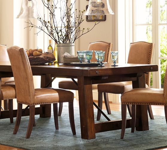 Pottery Barn Furniture In Store Pickup: Benchwright Extending Dining Table