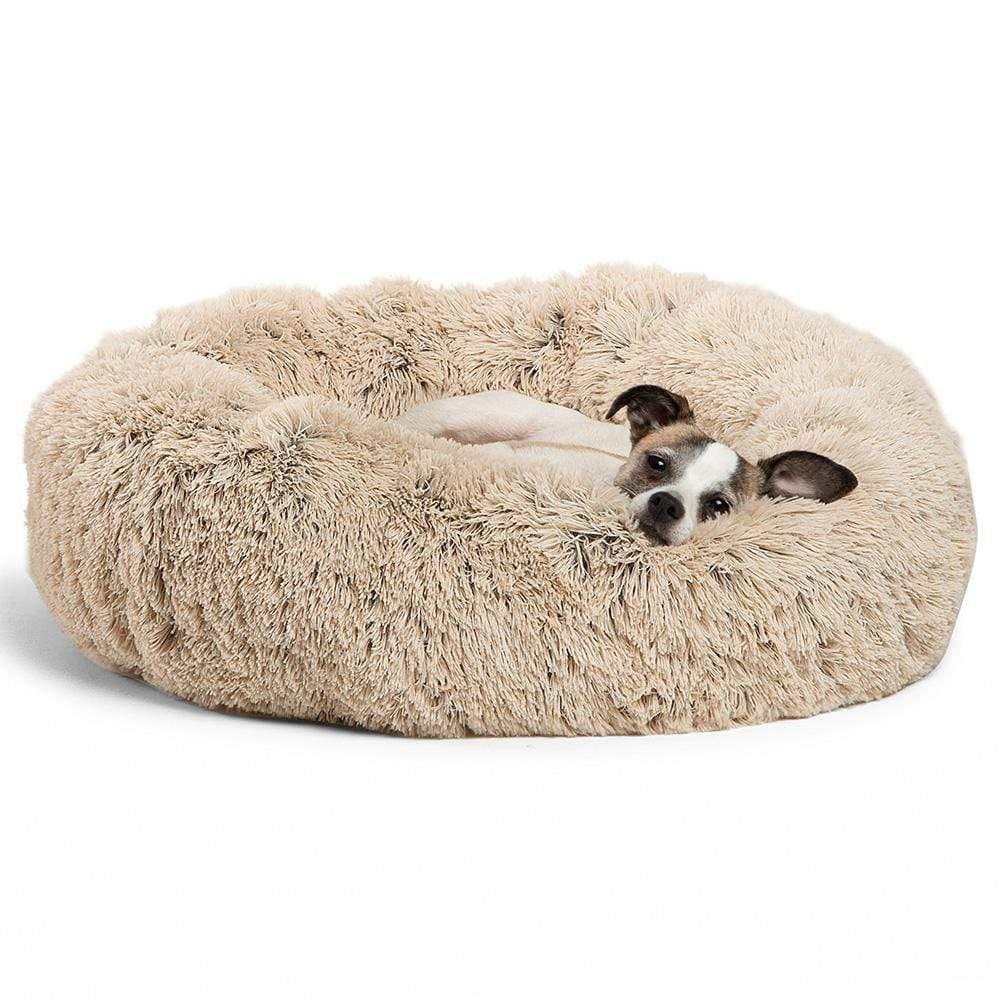 The Original Calming Shag Vegan Fur Donut Cuddler™ 23
