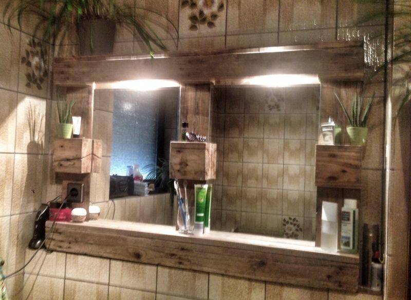 Paletten Spiegelschrank Mit Beleuchtung Spiegelschrank Beleuchtung Spiegelschrank Spiegelschrank Bad Holz