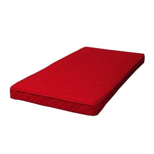 Federkernmatratze 90x200 Bonell Federkern Matratze Medium Waschbar Rot