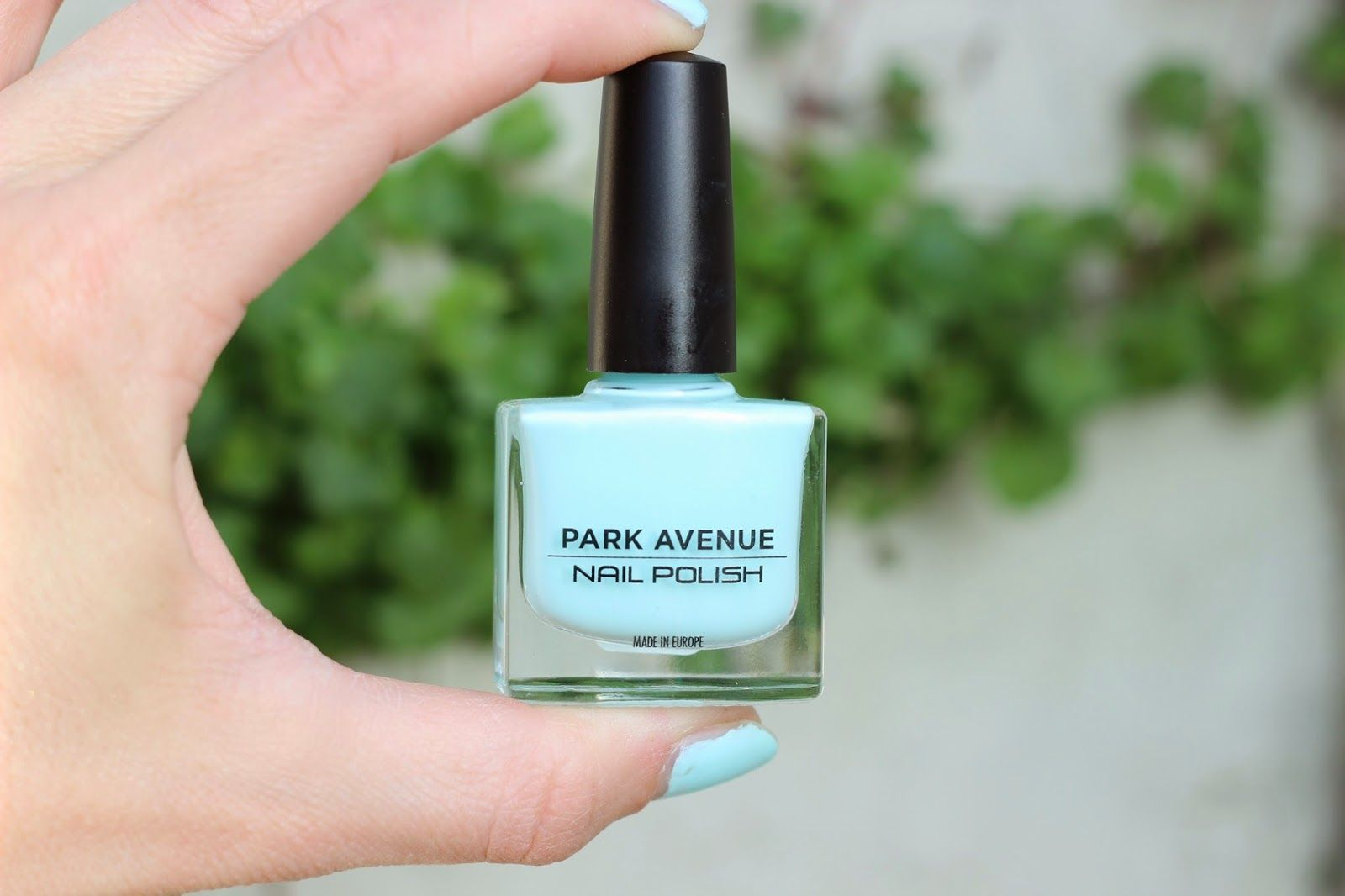 Sprinkles on a cupcake: Park Avenue - Delicate pastel blue nail polish