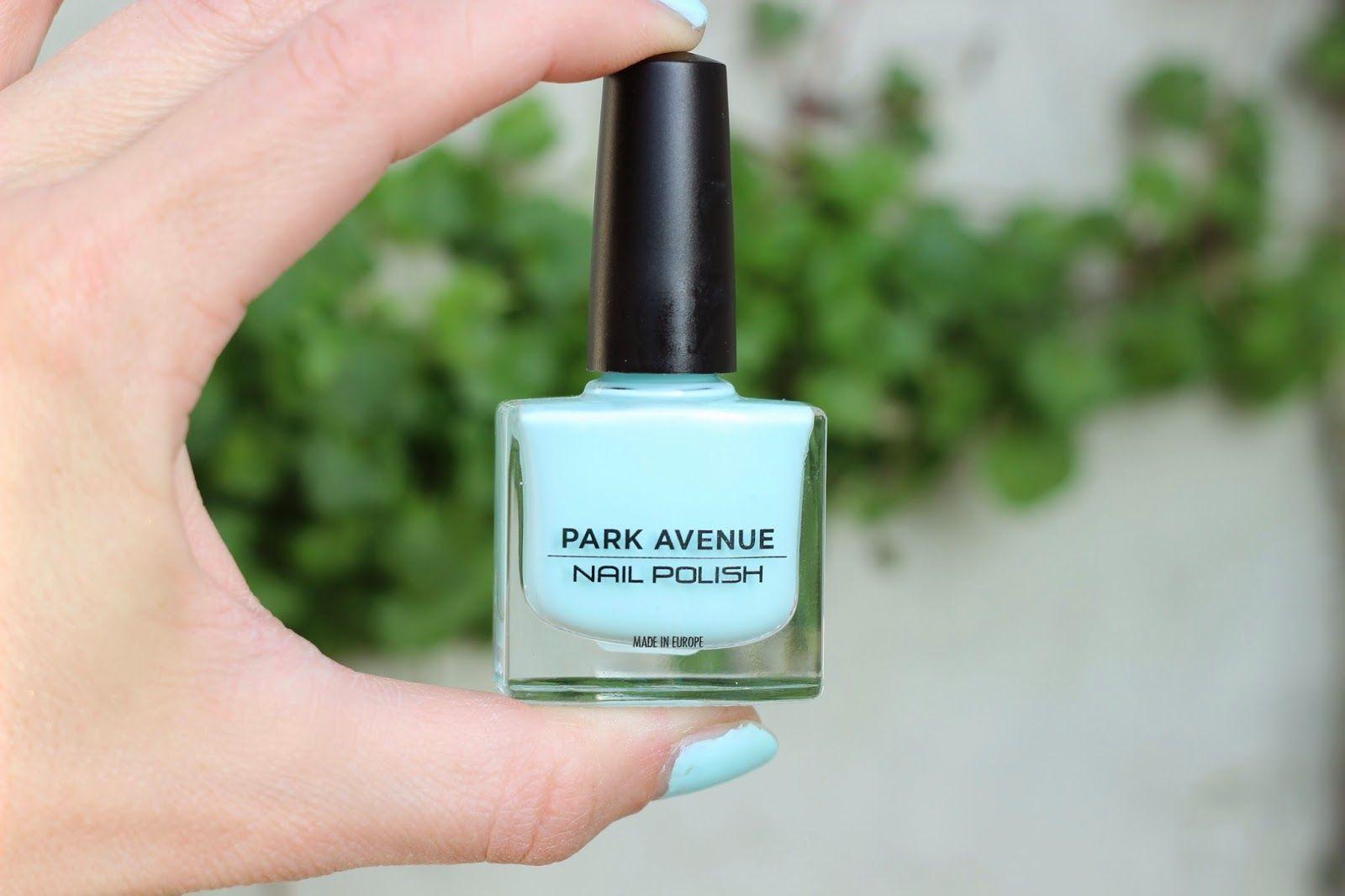 Sprinkles on a cupcake: Park Avenue - Delicate pastel blue nail polish