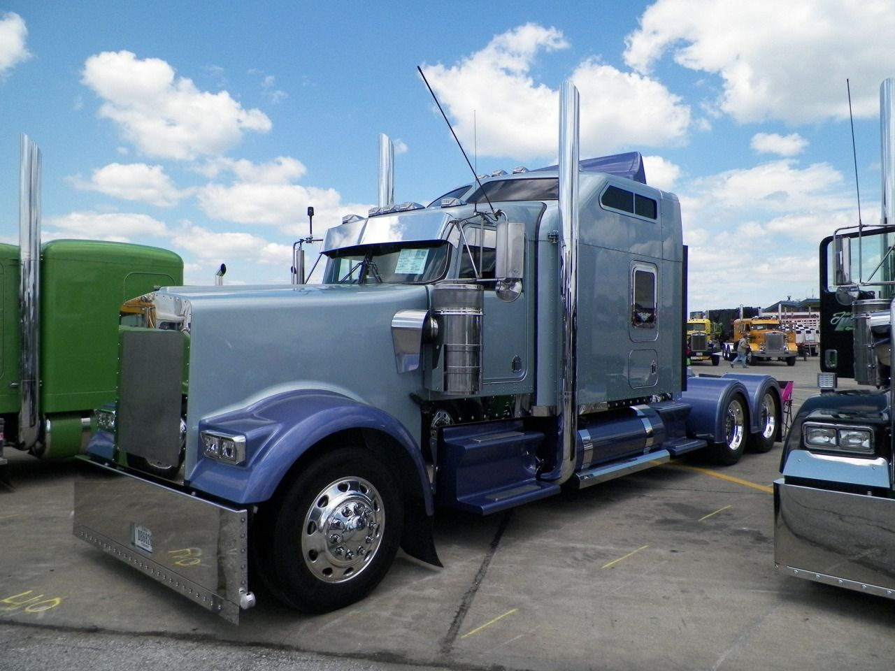 Semitrckn — Kenworth custom W900L | NOTHING BUT RIGS ...