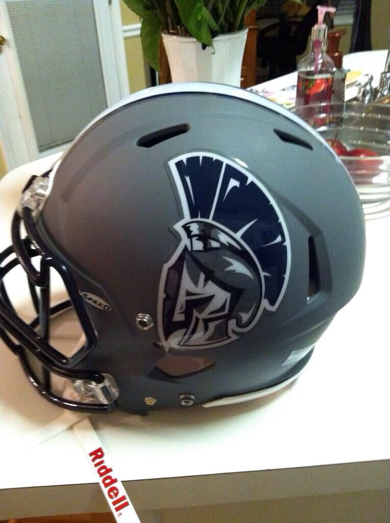 New football helmet decals for the West Hall High School ...