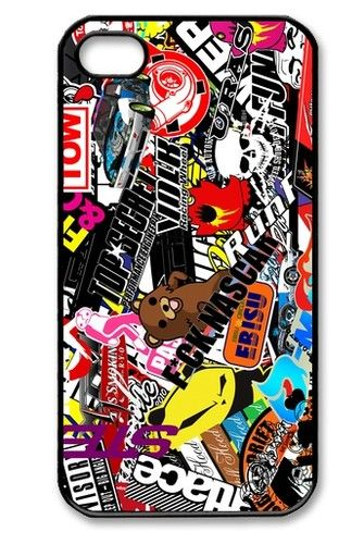 STICKER BOMBING JDM BOMB EURO decal JAPAN CAR RACING **HOT NEW iPhone 5 Case** | eBay