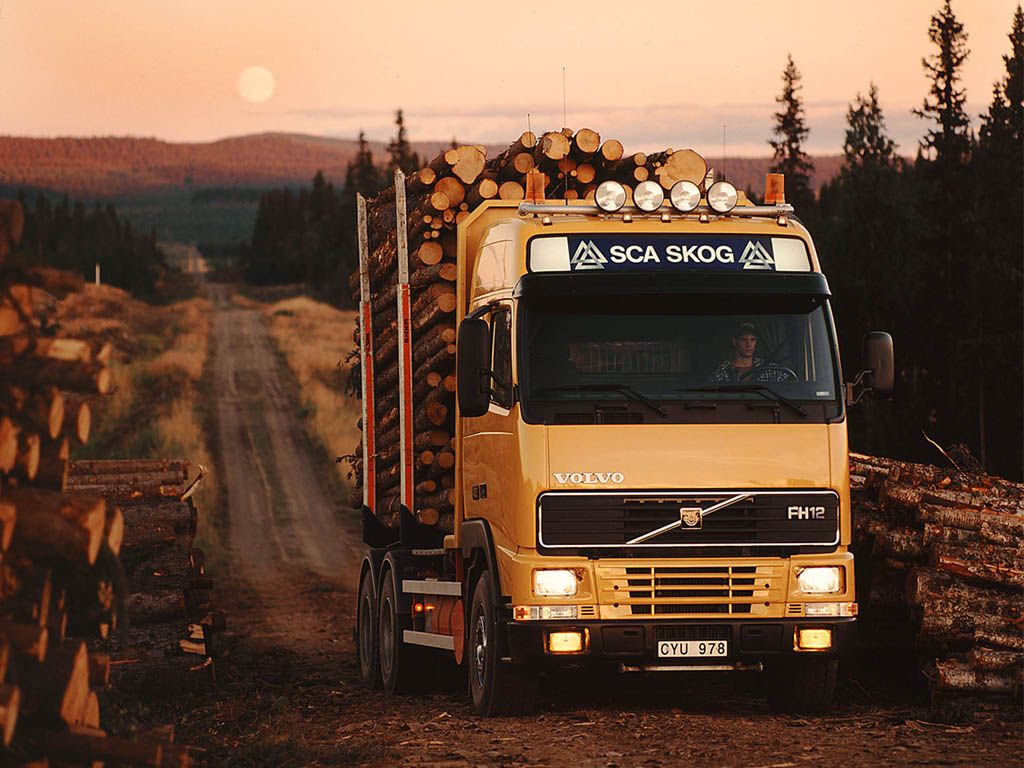 Wallpapers Of Volvo Timber Truck