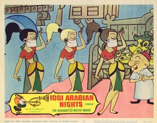Mr Magoo And 1001 Arabian Nights With Images Mr Magoo