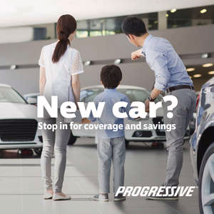Progressive Marketing Insurance agency, Cheap car