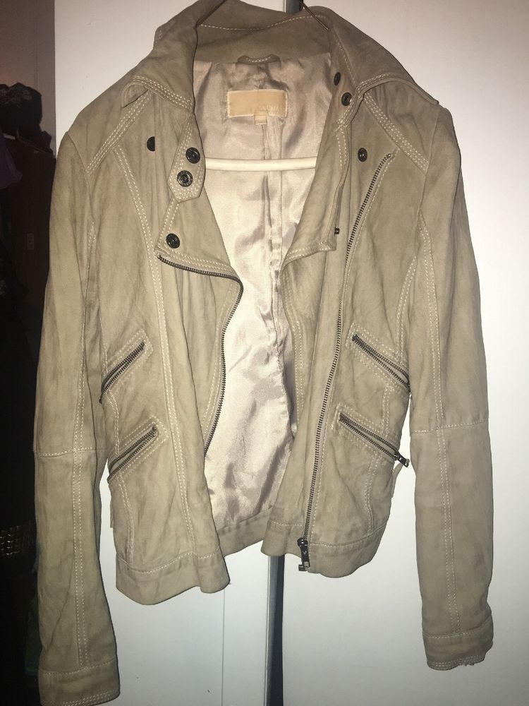 dd1cd7cff6b1b Michael Kors Authentic Suede Moto Jacket  fashion  clothing  shoes   accessories  womensclothing  coatsjacketsvests (ebay link)