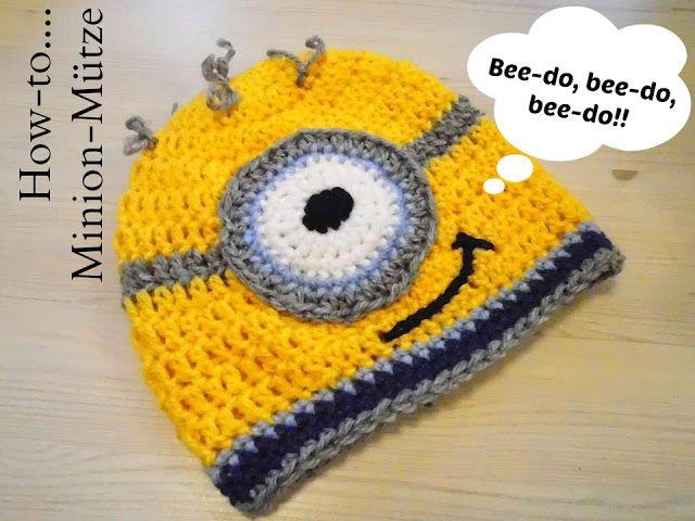 Anleitung einer Minion Mütze | шляпа | Pinterest | Minion mütze ...